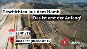 Geschichten aus den Hambi - Das ist erst der Anfang @ linXXnet